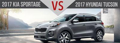 2017 Kia Sportage vs. 2017 Hyundai Tucson Charlotte NC