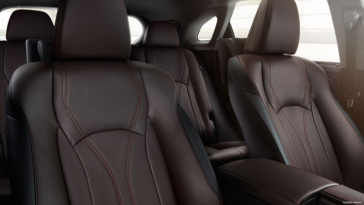 Comfortable Seats are a Staple of the 2017 RX 350!