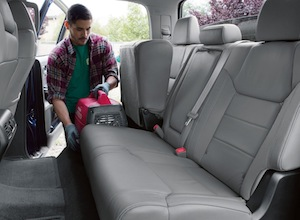 Flexible seating in the 2017 Toyota Tundra