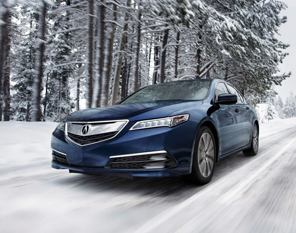 The 2017 TLX Knows How to Conquer Snow!