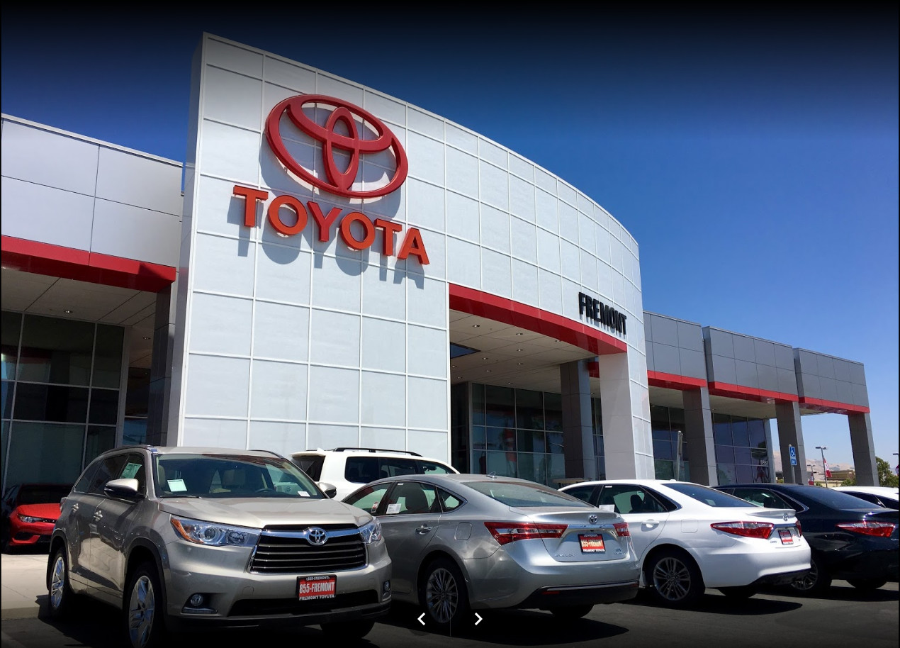 Contact your trusted toyota dealer in fremont ca