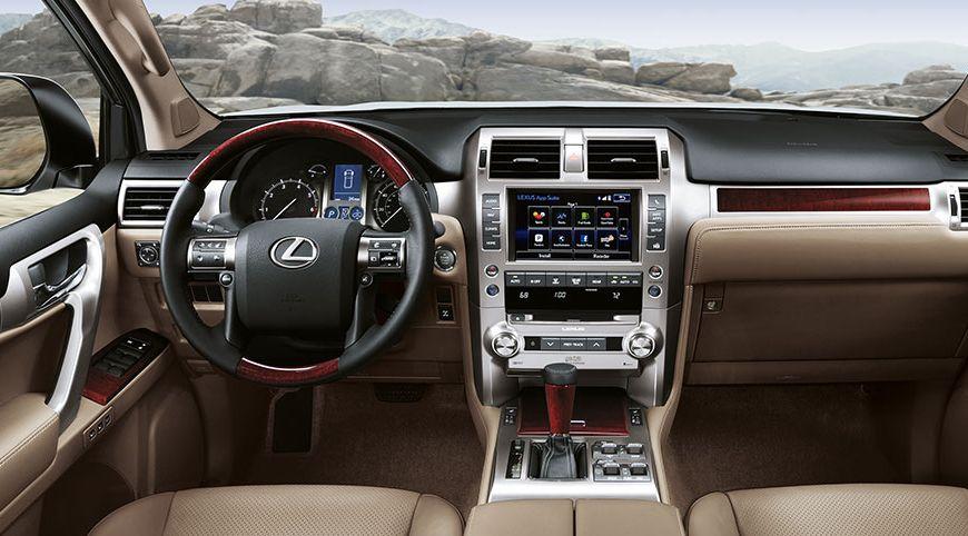 Lexus GX 460 Interior