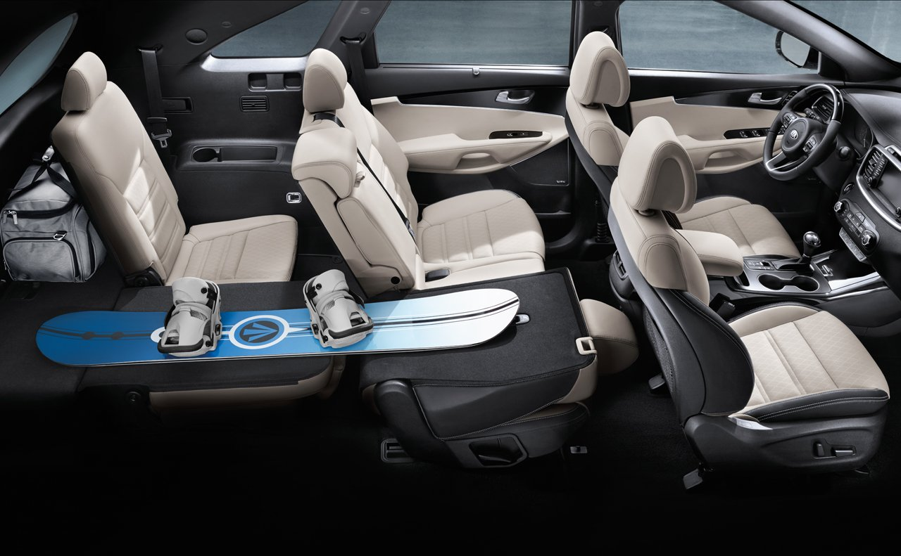 Create the Space You Need in the Sorento