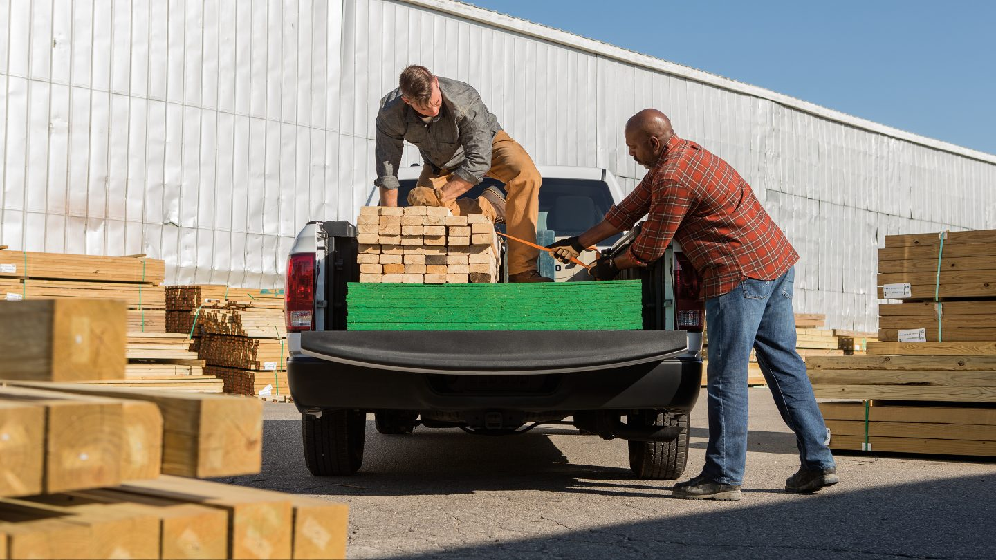 Space for Your Supplies with the Ram Truck Bed