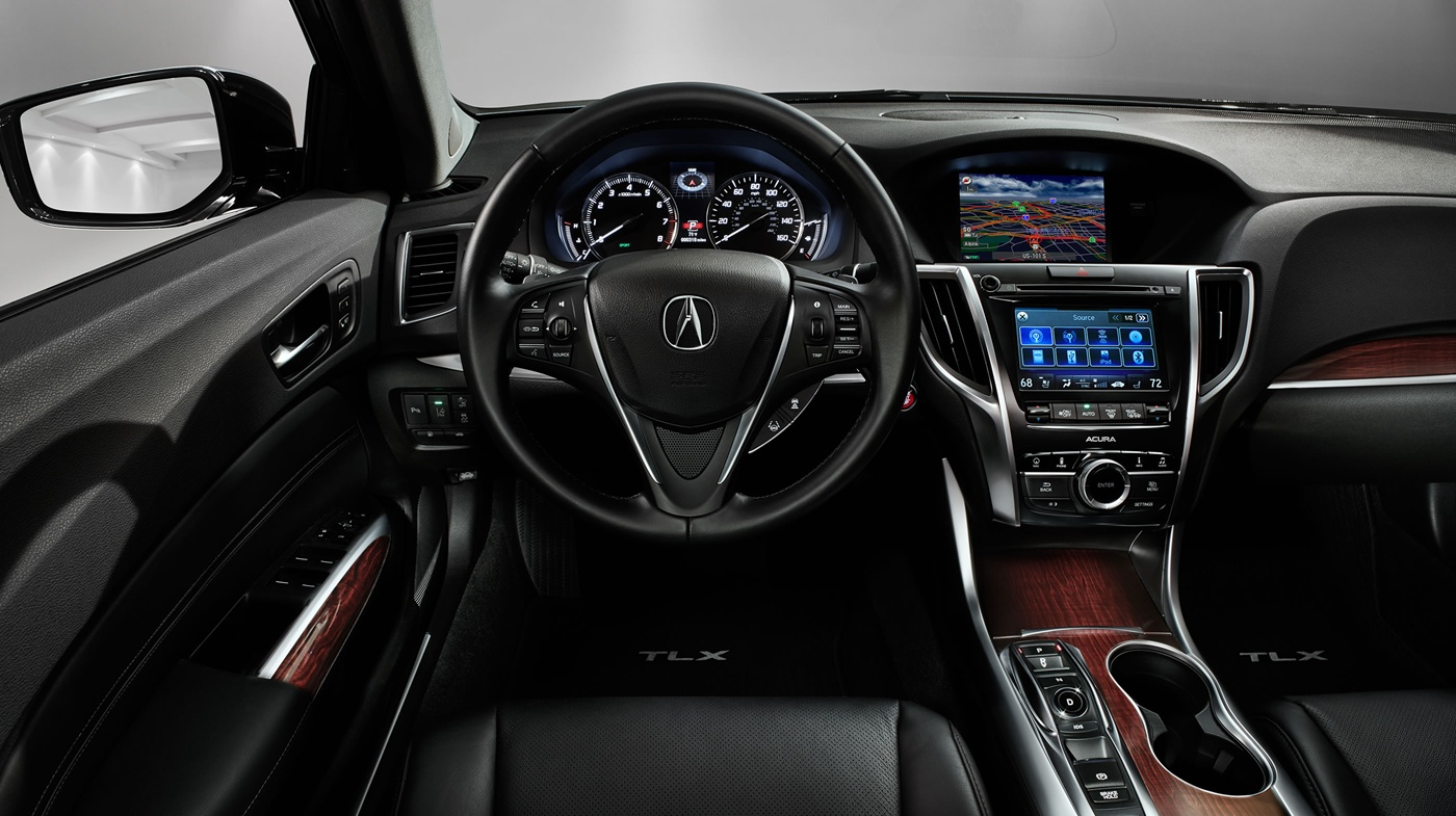 Interior of the TLX