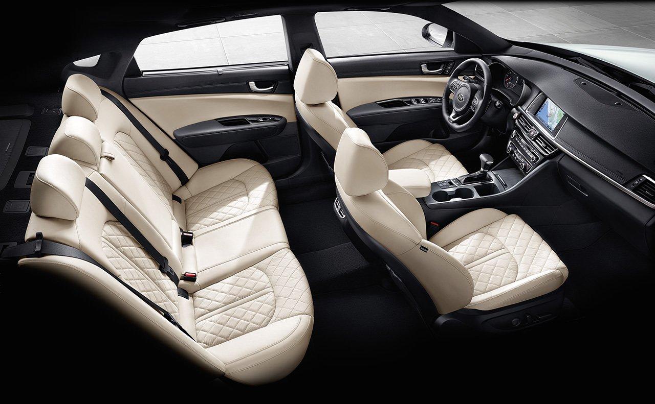 2017 Kia Optima SX Limited Interior
