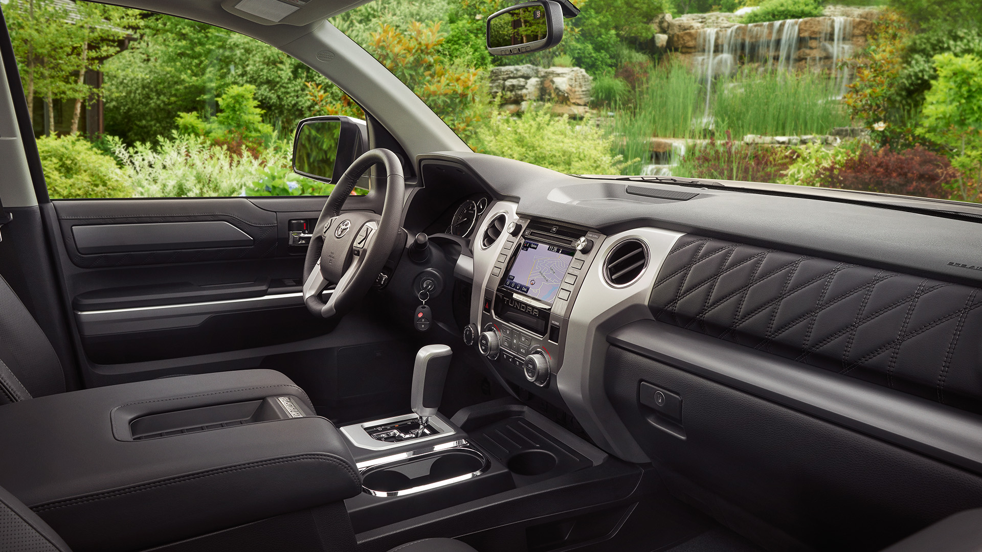 Commodious Interior of the Toyota Tundra