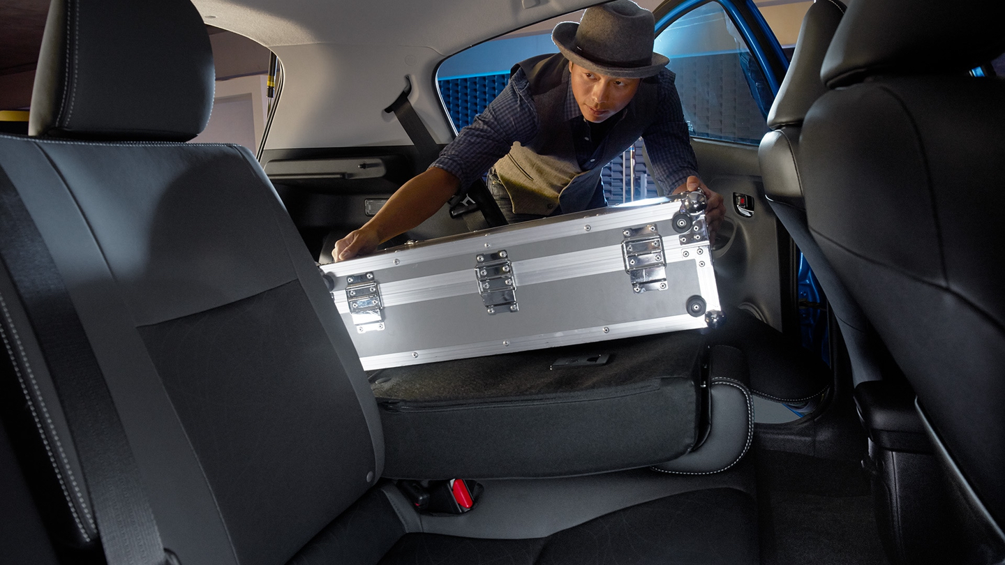 Plenty of Cargo Space Inside the 2017 Prius c