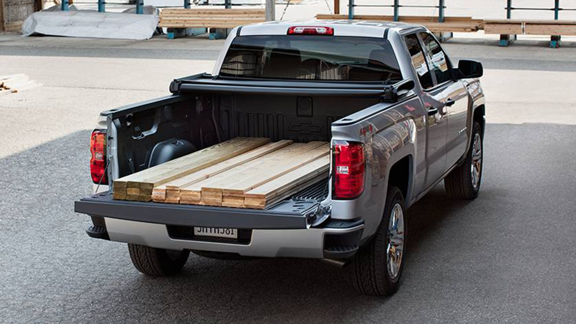 Truck Bed of the 2017 Silverado 1500