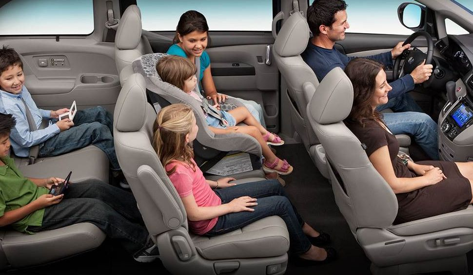Spacious Seating in the Honda Odyssey