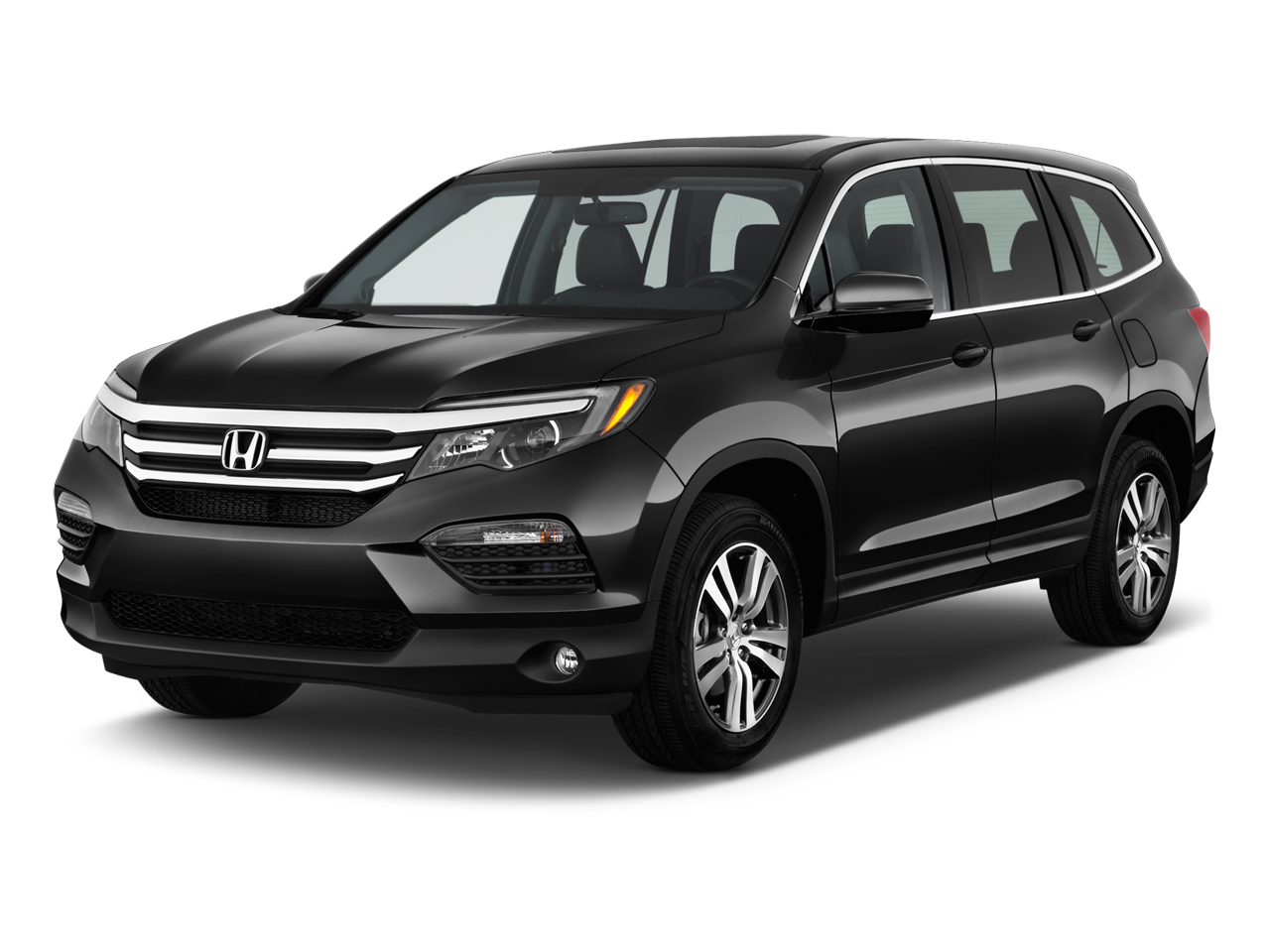 New 2016 honda pilot ex l near butler pa honda north for Black honda pilot