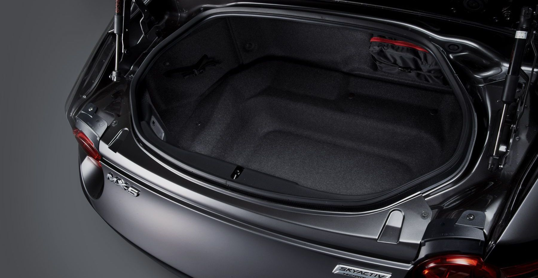 Ample Trunk Room in the Mazda MX-5 Miata RF