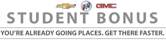 GM Student Bonus Program at Watrous Mainline